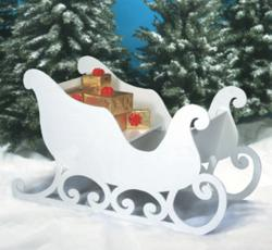 santa sleigh plans